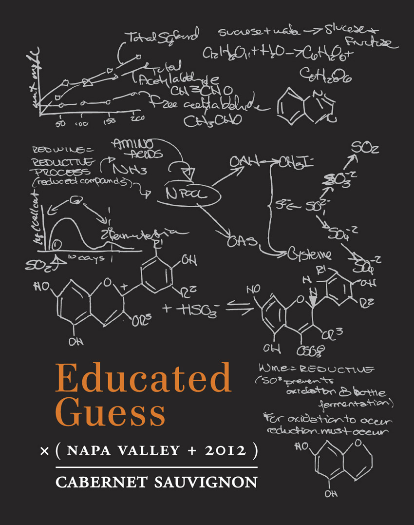 LABEL-educatedguess-cabsauv2012